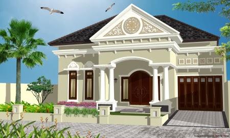 Gambar Rumah Klasik Desain Mediterania 2014 Terbaru