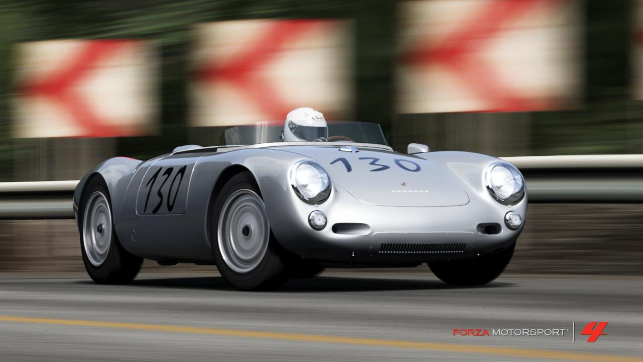 The Broken Paddle 30 Days Of Porsche 1955 Porsche 550 Spyder