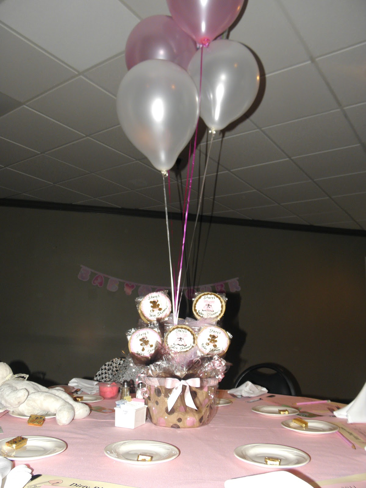 cookie dreams cookie co baby shower cookie centerpieces