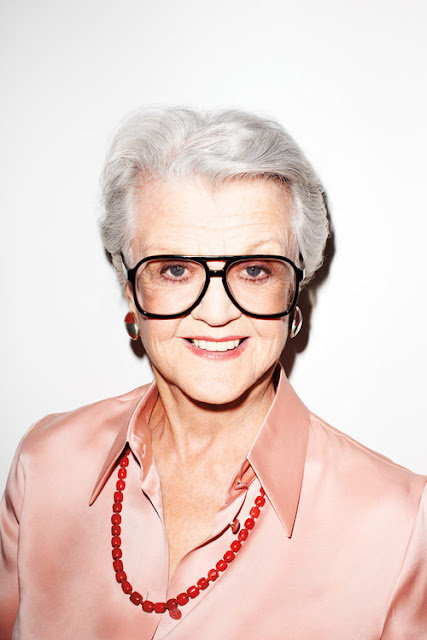 Angela Lansbury by Terry Richardson
