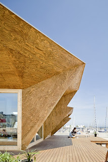 Casa sostenible de madera