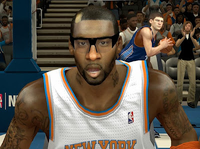NBA 2K14 Amar'e Stoudemire Hair Update