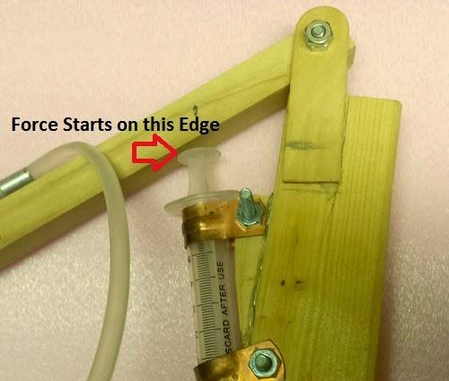 Wood Hydraulic Arm : Scienceguyorg ramblings modification to syringe hydraulic arm