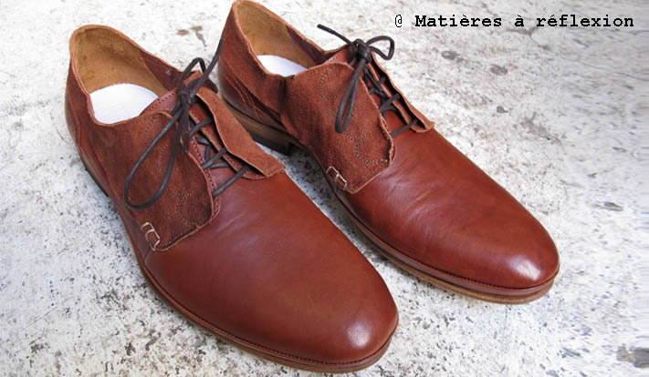 Derbies cognac Atelier do Sapato Homme