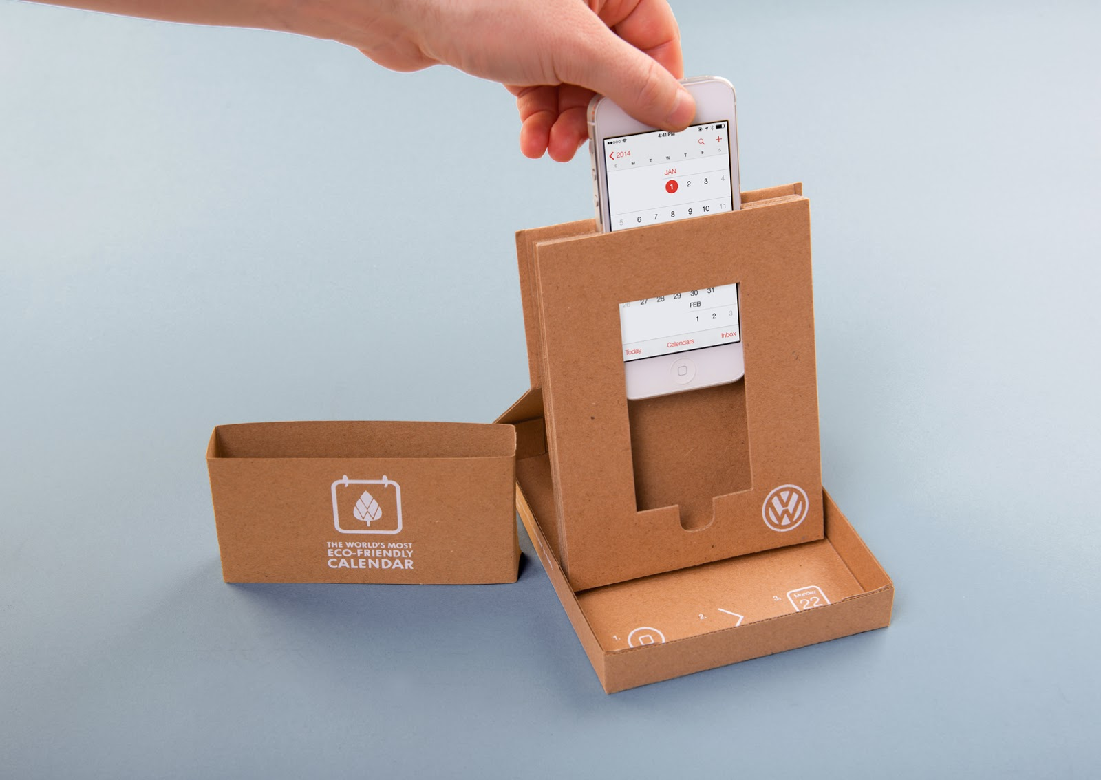 The World S Most Eco Friendly Calendar On Packaging Of The