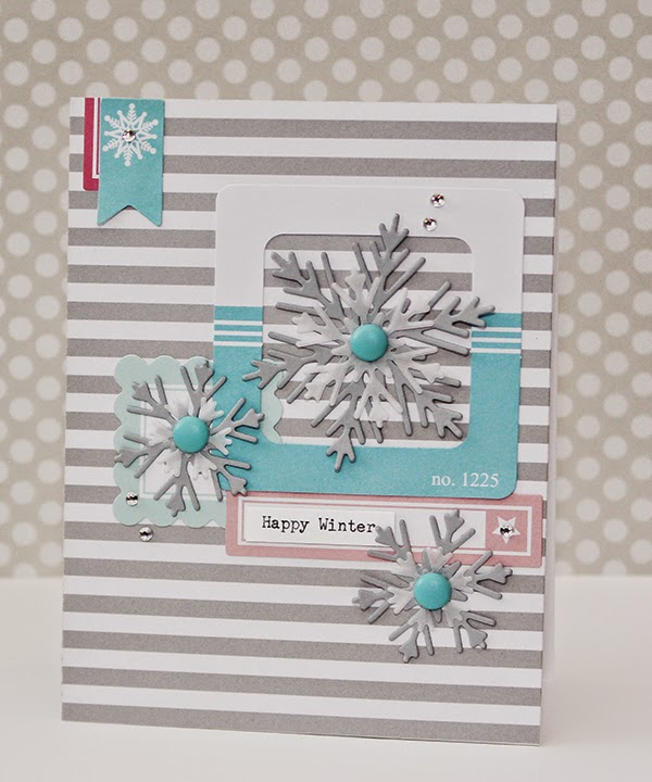 Erin Taylor Chickaniddy Crafts Winter Card