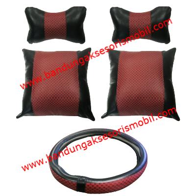 Paket Burberry Red Black 3 Macam