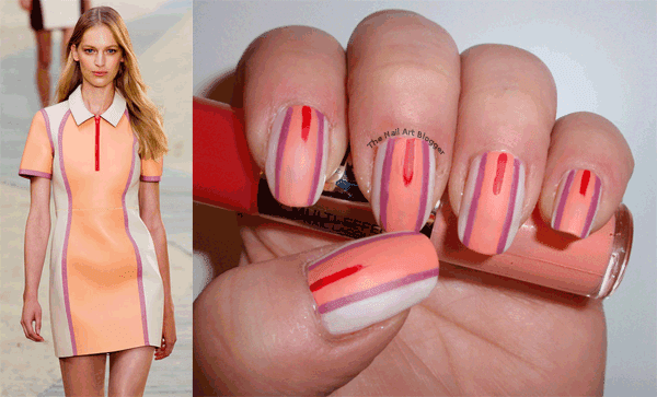 The Nail Art Blogger Nail Art Inspired By Fashion Tommy