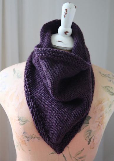 Yarn Garage Show And Tell Cashmere Bandana Cowl