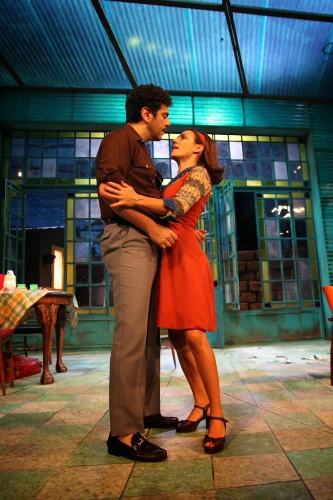 Ajaka y Wexler son Susana y Jorge.