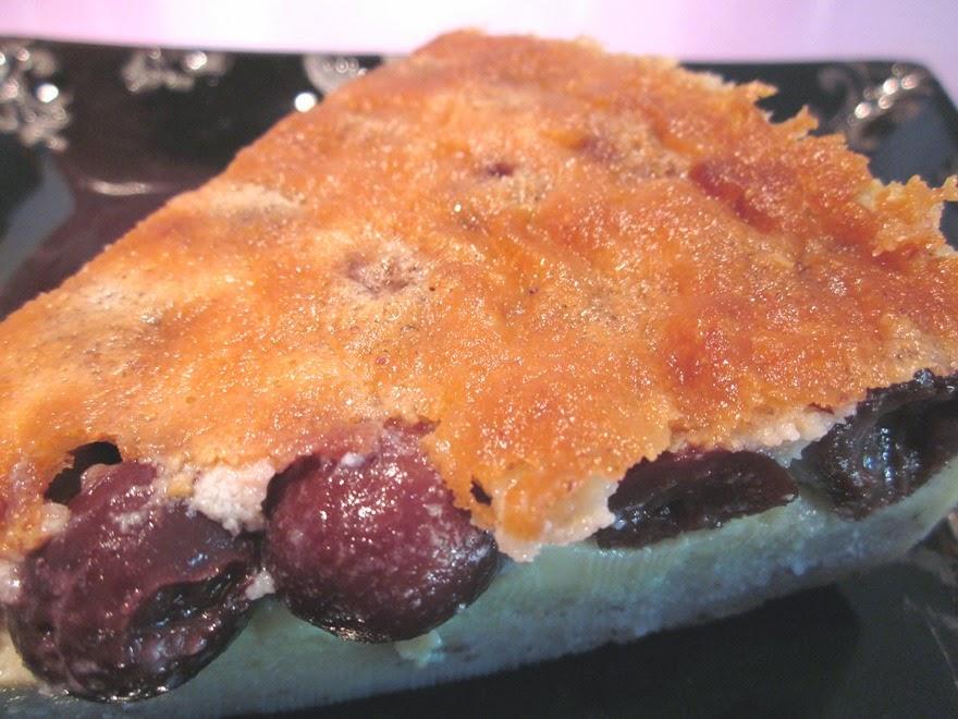 Clafoutis aux cerises sans gluten