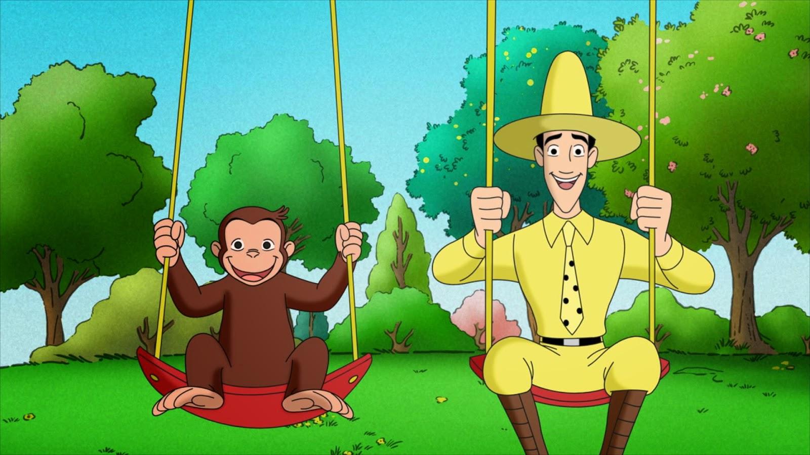 gambar monyet kartun