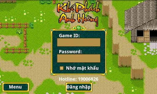 Game Khí Phách Anh Hùng