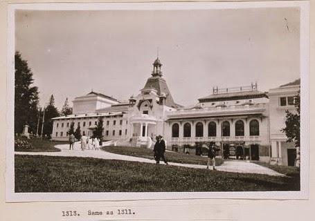Cazinoul din Sinaia in 1923