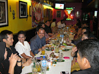 The guests at Las Carretas Mexican restaurant, Ampang KL