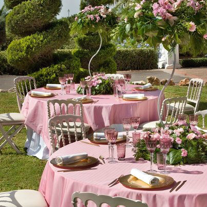 Todo con las flores decorar crear degustar cuidar - Como decorar una mesa de jardin ...