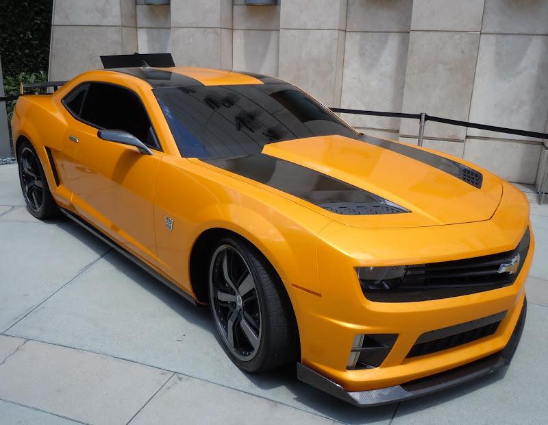 Bumblebee Camaro Transformers 3