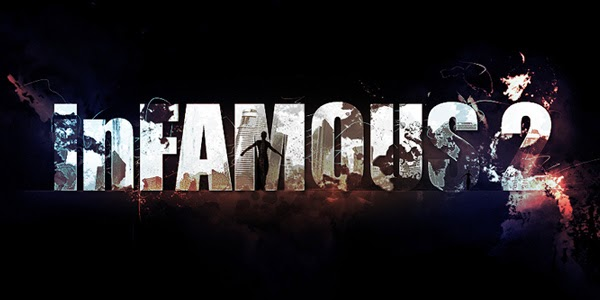 "Grungy Style Text Effect Inspired by ""Infamous 2″ Game in Photoshop"
