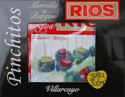 Pinchitos de Morcilla de Burgos RIOS