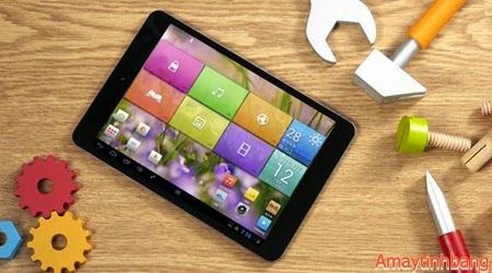 Ifive mini3 3G Sở hữu màn hình 7,9inch HD, chip 4 nhân, wifi/3G.