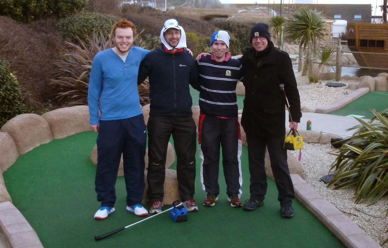 The Midlands Minigolf Club at the BMGA British Club Championships in Hastings