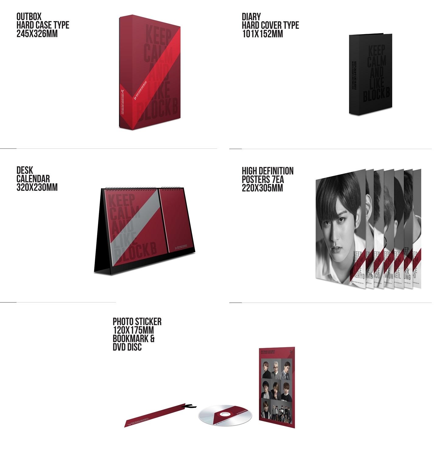 Kedai kpop my merchandise block b 2016 seasons greetings merchandise block b 2016 seasons greetings m4hsunfo