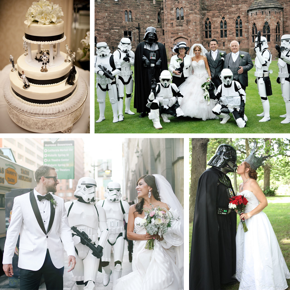 Wedding Star Wars