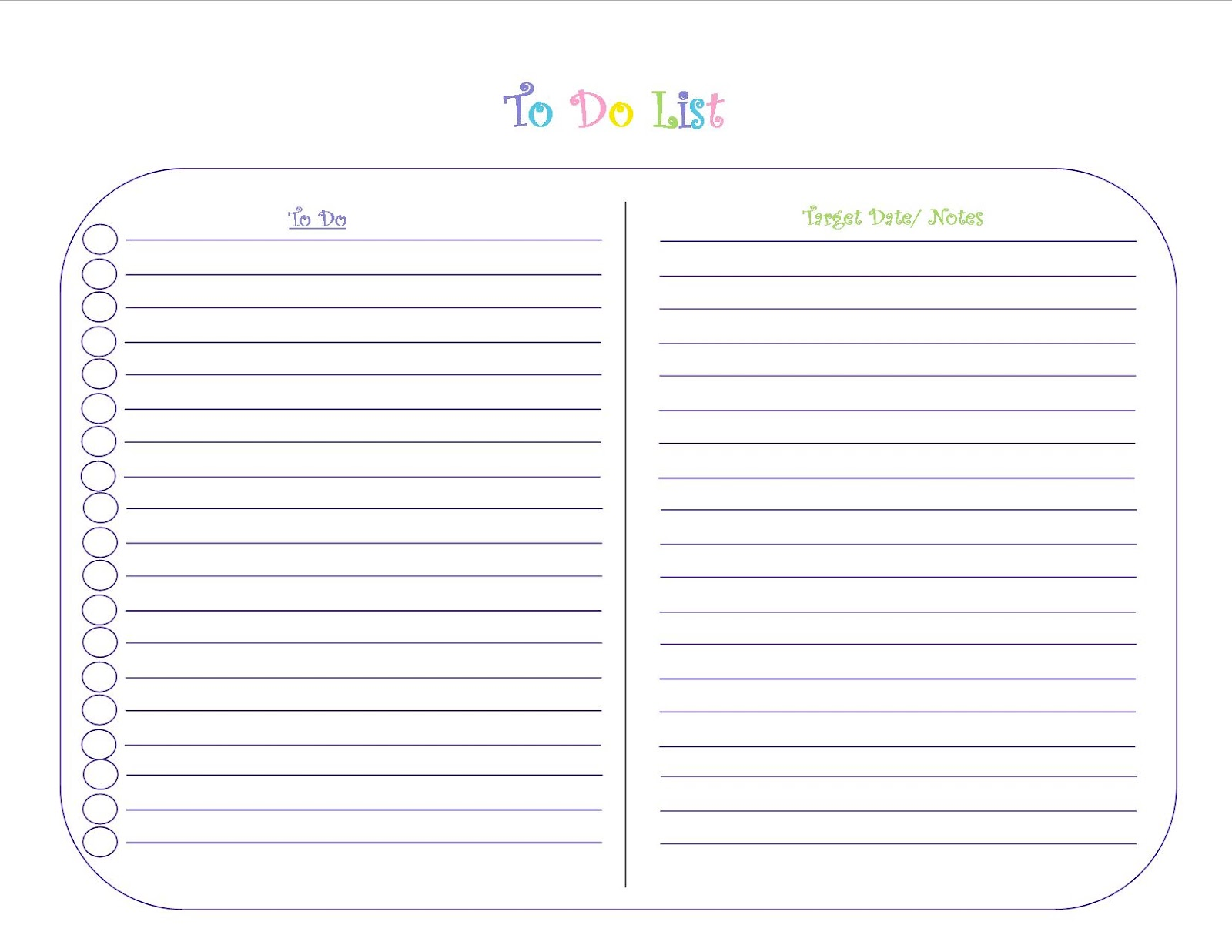 Cute Daily To Do List Template March 2017 Calendar – Free Printable Daily to Do List Template