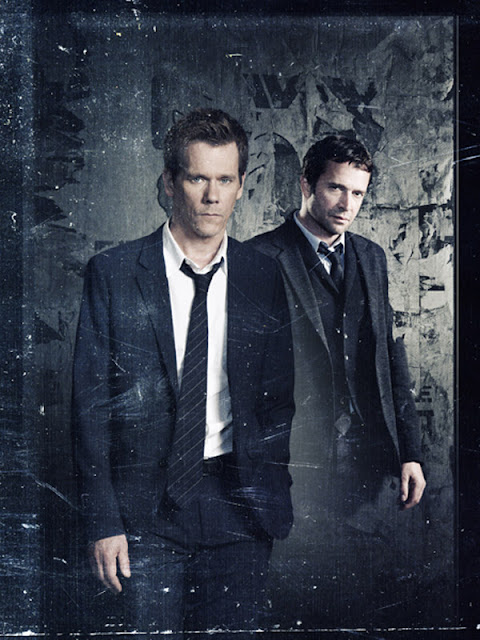 Kevin Bacon and James Purefoy as Hardy and Carroll