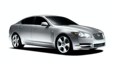 Jaguar XF (2009) Front Side