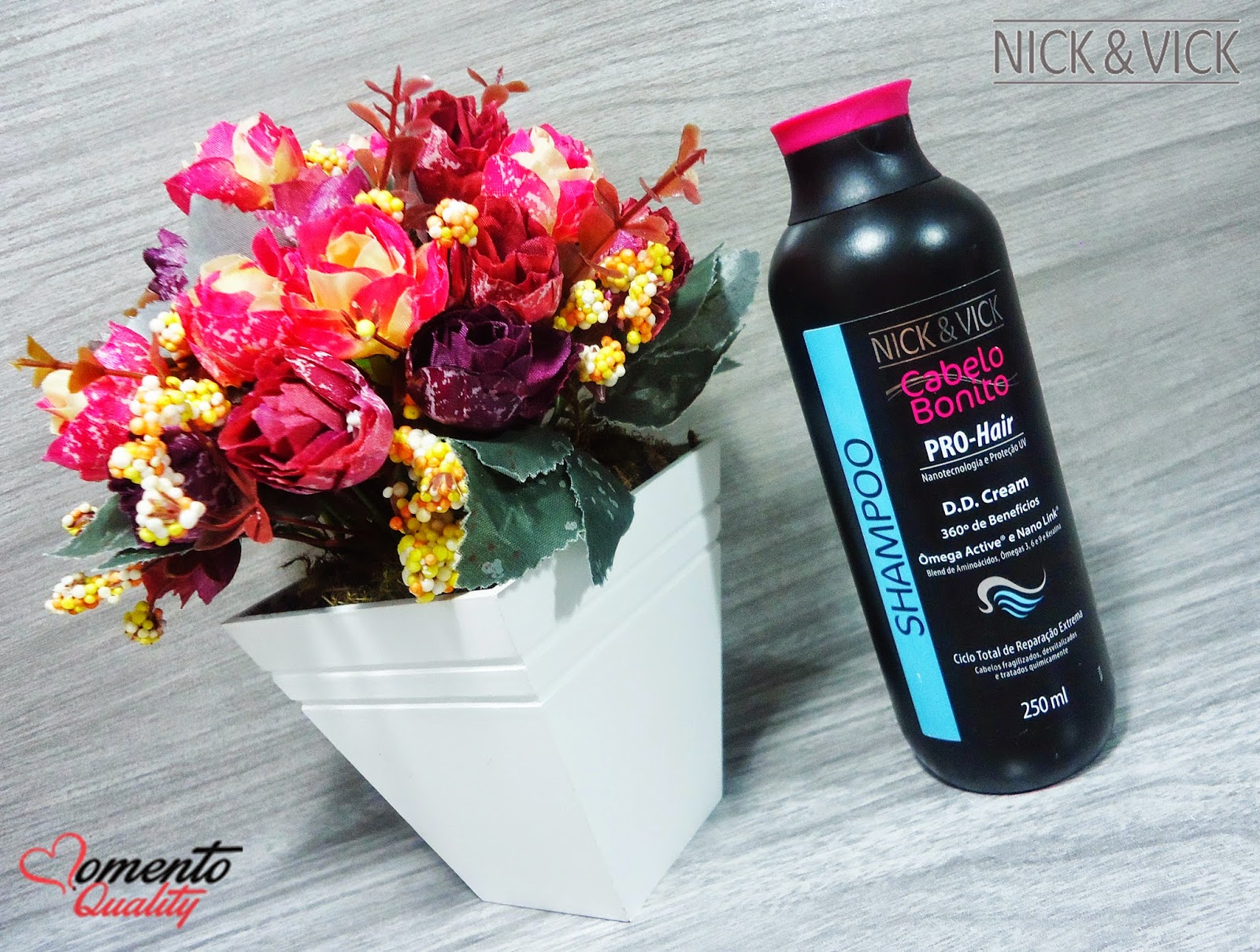 DD Cream Pro Hair Nick & Vick Shampoo