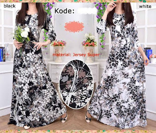 Melia Maxi Dress Bunga