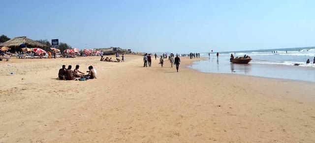 Calangute beach india