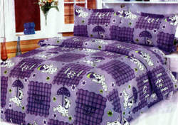 Double Bed Bedsheets With Pillow Covers from Seventymm