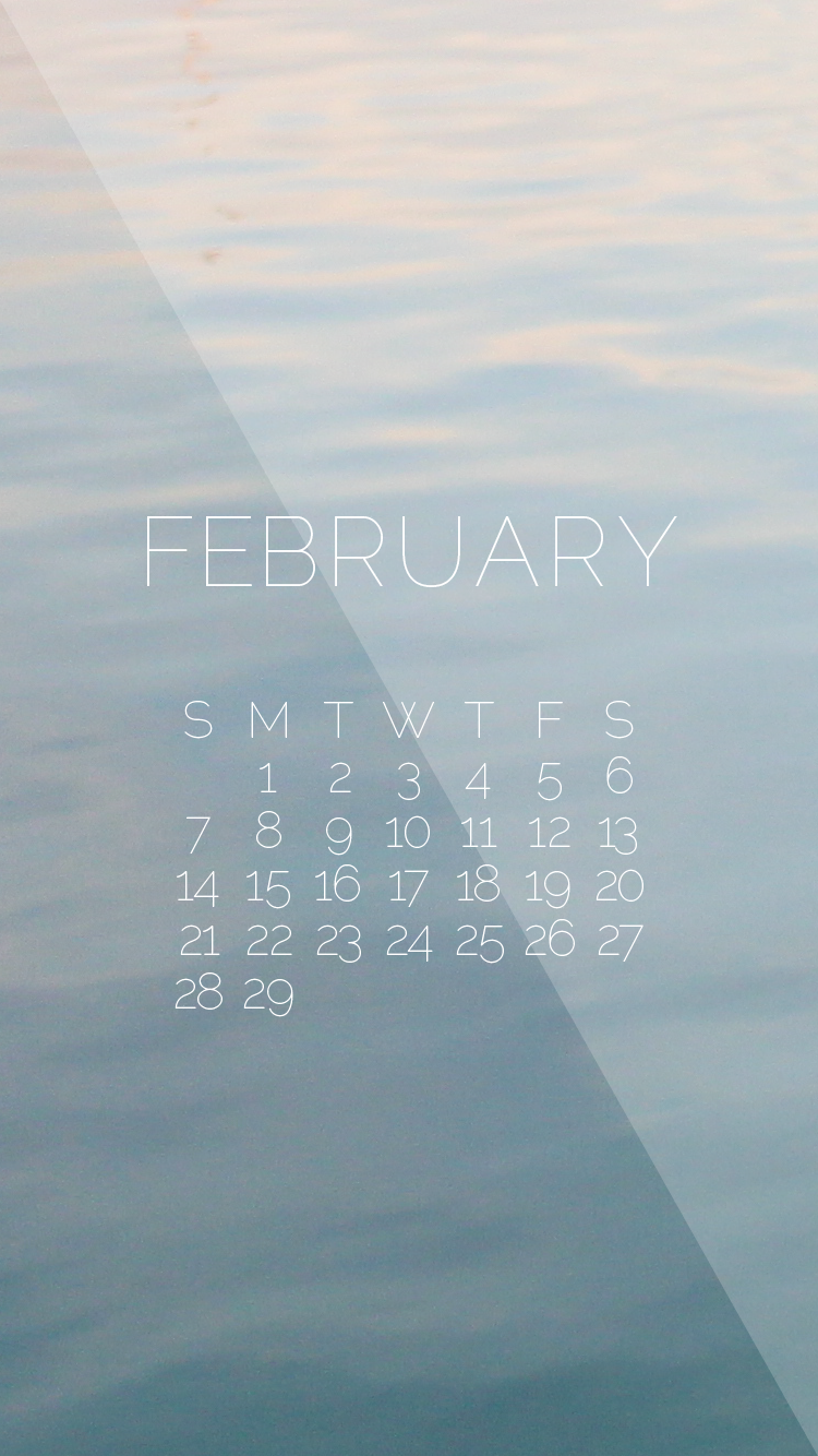 Calendar Wallpaper Iphone : February desktop iphone wallpapers