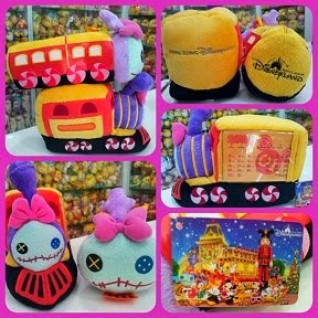 2011 HKDL XMAS TRAIN SCRUMP ITEMS