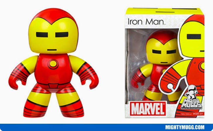 Iron Man Marvel Mighty Muggs Wave 1
