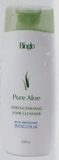 Bioglo Pure Aloe Strenghening Hair Cleanser