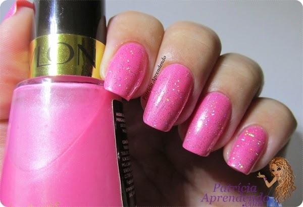 Esmalte Revlon Posh Pink e Argento Mona Lisa