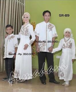 Baju Muslim Keluarga untuk Lebaran