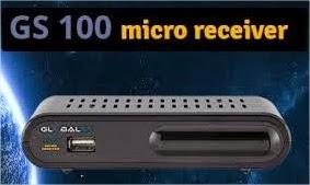 ATUALIZAÇÃO GLOBALSAT GS 100 SD - V2.36 – 15/10/2014