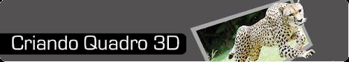 Quadro 3d tutorial - Photoshop CS5