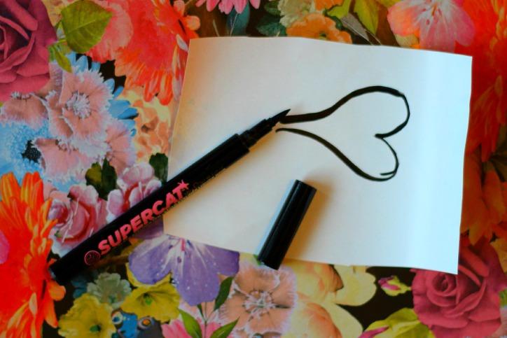 Soap and Glory Supercat liquid liner pen, swatch