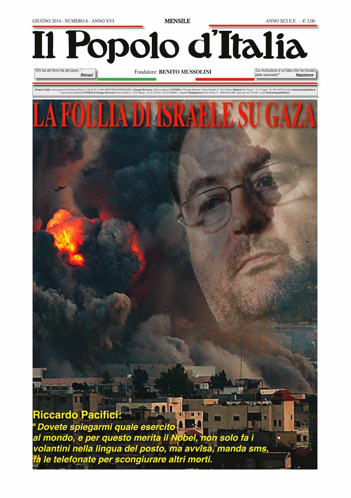 Il Popolo d'Italia Luglio 2014