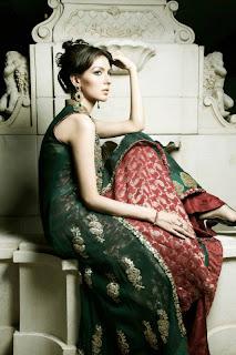 Umsha by Uzma babar Bridal dresses 2013 for women