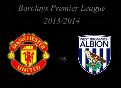 Manchester United vs WBA Premier league 2013