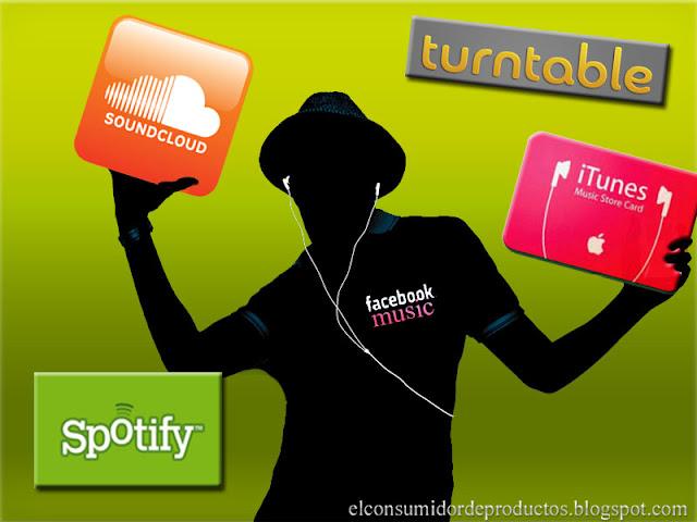 Facebook music integrara Spotify Soundcloud Itunes