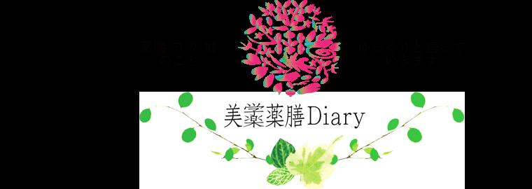 美学薬膳 Diary | 体質に合った薬膳レシピ、薬膳講座、ヨガを千葉で開催しています。全国はSkypeで対応★体質診断や不調の原因を学び、薬膳レシピはもちろん、カウンセリングができるようになります。