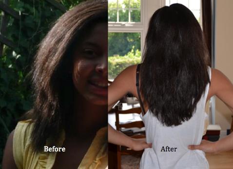 grow mixed race hair long