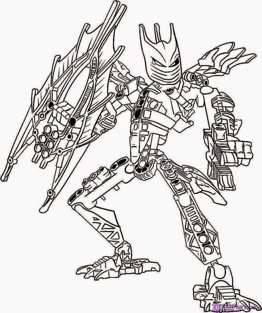 free hero factory furno coloring pages